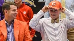 Another Swinney in Clemson: Drew says playing for the Tigers is a dream come true