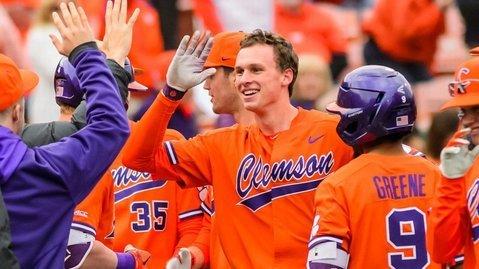Logan Davidson named Clemson's top male ACC scholar-athlete