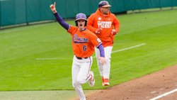 Tigers defeat No. 3 Tar Heels on a rare balk-off