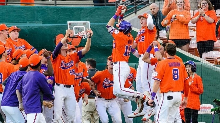 Clemson won two of three over the No. 8 Louisville Cardinals over the weekend.