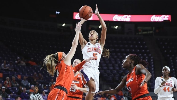 Danielle Edwards is one of Clemson's top defenders (Photo by Lawton Hilliard)