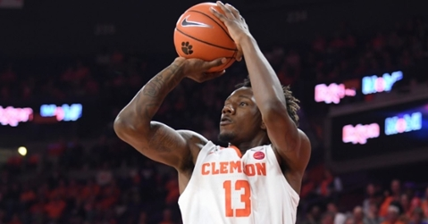 Clemson used some hot-shooting from beyond the arc to put some distance between them and the Blue Hose early.