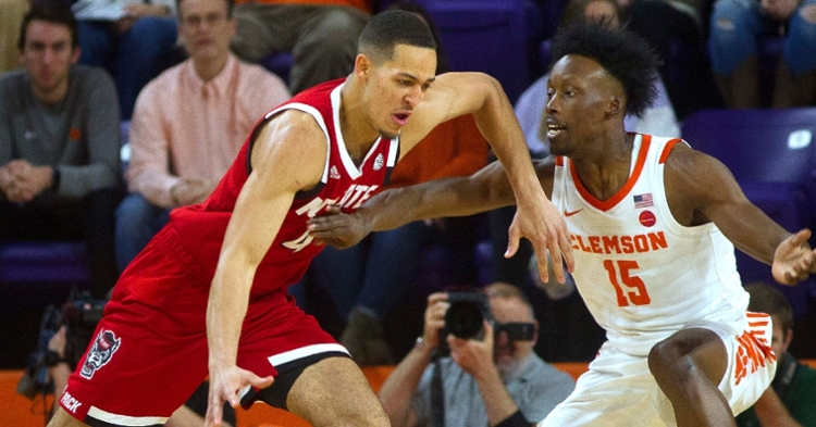 John Newman defends during first half action against NC State (Photo: Josh Kelly / USATODAY)