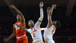 Reed and the seniors lead Tigers past Syracuse to improve NCAA hopes