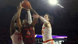WATCH: Players and coaches after Tigers knock off No. 11 Hokies