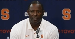 WATCH: Dino Babers reacts to 41-6 loss to Clemson