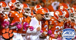 "WATCH: Clemson hype video ""Beast mode"" for ACC Championship game"