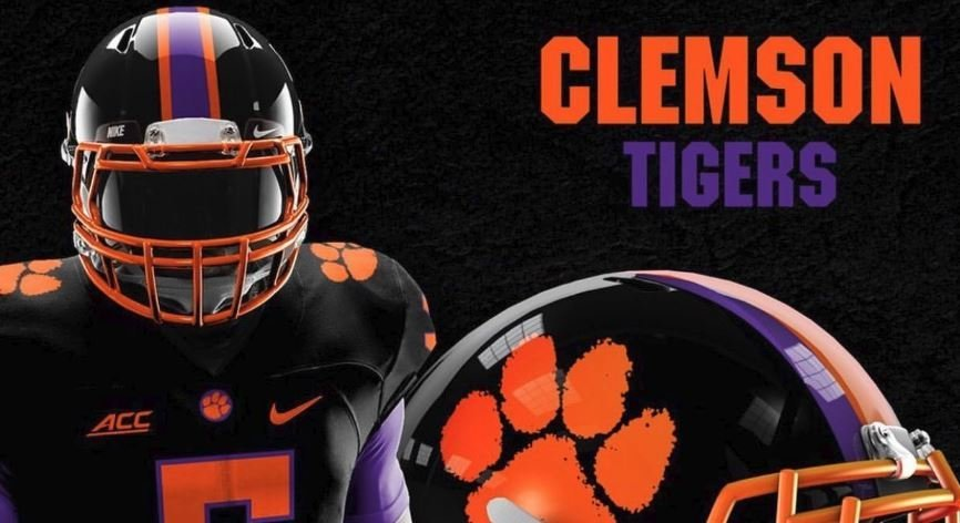 new style 1fedb 81c5a LOOK: Clemson blackout alternate uniform concept | TigerNet