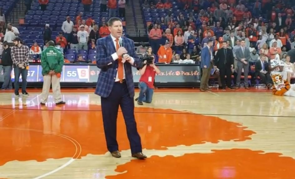 WATCH: Clemson-Syracuse postgame, Senior Day honors