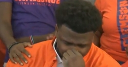 WATCH: Elite DT emotional after signing for Clemson