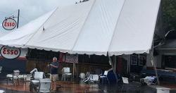 Clemson's Esso Club damaged during storm
