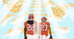 Clemson DL draws heartfelt tribute for Tyshon Dye, C.J. Fuller