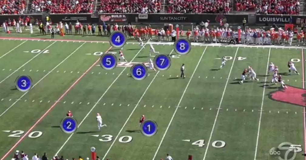 WATCH: Trevor Lawrence throws two picks early at Louisville - TigerNet.com