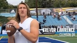 WATCH: Trevor Lawrence highlights at QB retreat