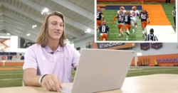 WATCH: Tigers react to... Syracuse highlights