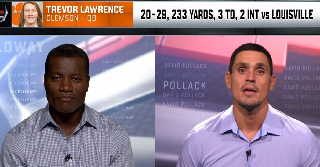 WATCH: ESPN analysts say Lawrence's turnovers are cause for concern - TigerNet.com