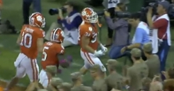 WATCH: Logan Rudolph scoop-and-score puts Clemson up big