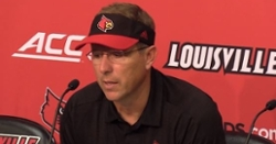 WATCH: Louisville head coach reacts to 45-10 loss to Clemson
