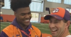 WATCH: 5-star LB gets Clemson offer and commits to Dabo Swinney immediately
