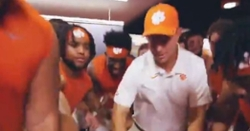 WATCH: Dabo Swinney, Tigers dance in locker room after win over FSU