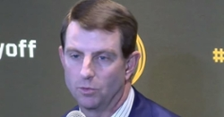 WATCH: Dabo Swinney at CFB Playoff press conference