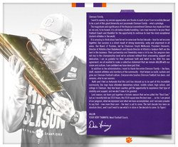 Dabo Swinney's open letter to fans after agreeing to new contract