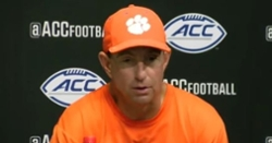 WATCH: Dabo Swinney discusses win over Louisville