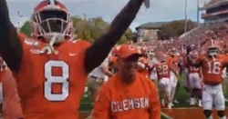 WATCH: Clemson, Swinney fired up during Victory Walk