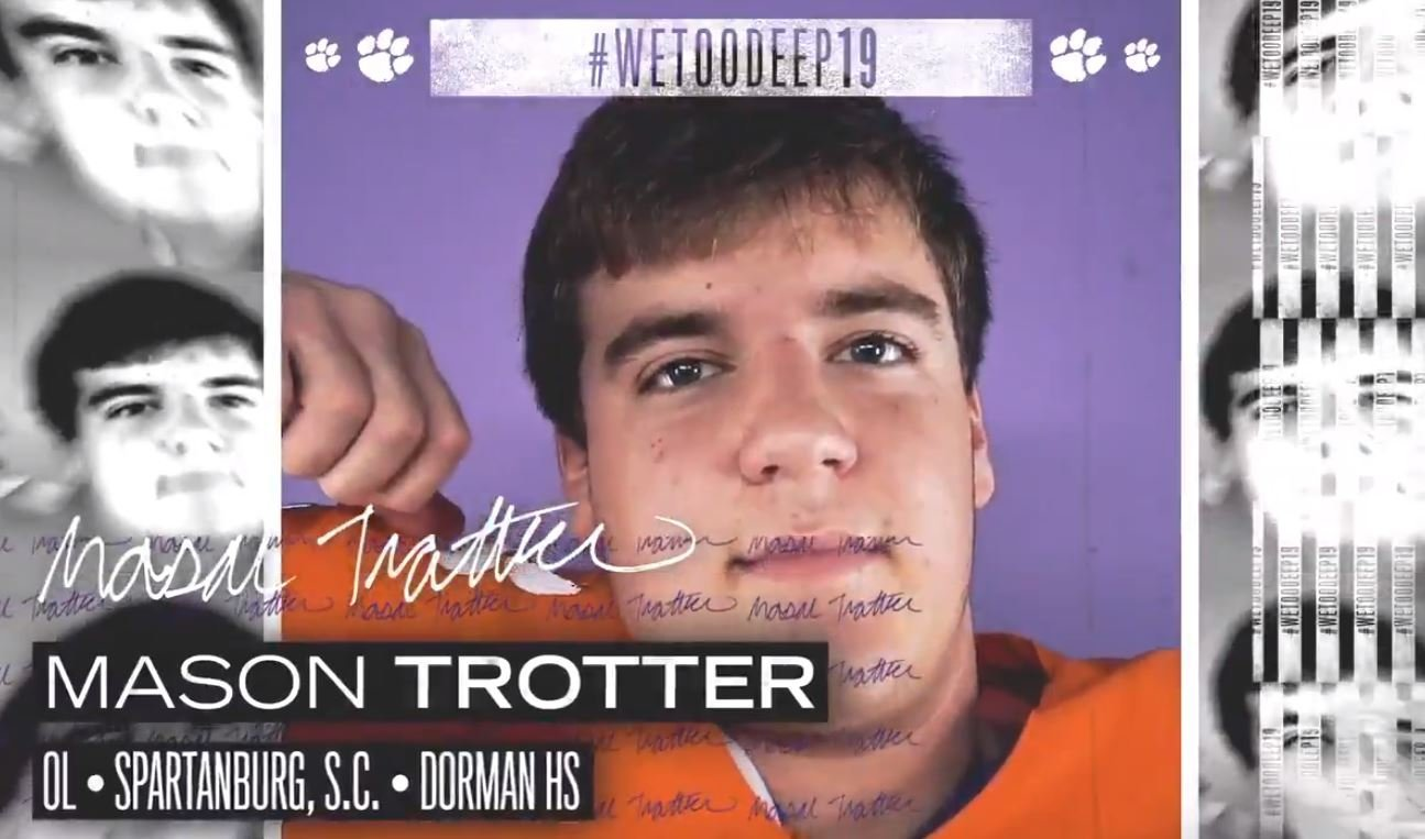 Instate OL signs with Clemson
