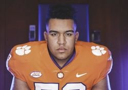 WATCH: 4-star OL receives All-American jersey, talks path to Clemson