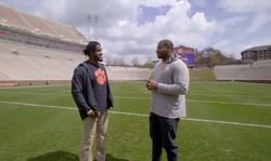 WATCH: Vic Beasley goes 'Back 2 Campus' with Dexter Lawrence