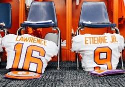 LOOK: Clemson uniforms for Clemson-Syracuse
