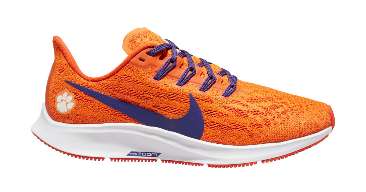 Just released! Men's and Women's Clemson Nike Air Zoom Shoe