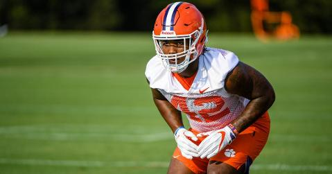 Vonta Bentley is one of the young linebackers