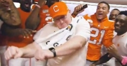 'Naked' Caldwell the highlight of Clemson's video staff meetings