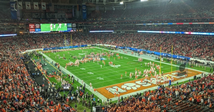 Live from the Fiesta Bowl: Clemson vs. Ohio State