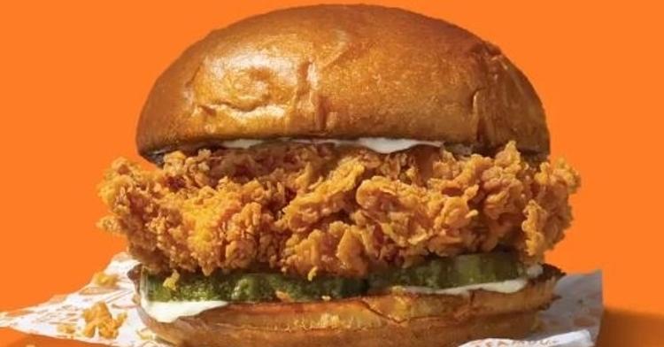 Popeyes' Chicken Sandwich looks pretty tasty