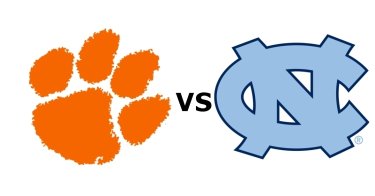 Clemson takes on UNC at 3:30 Saturday (ABC)