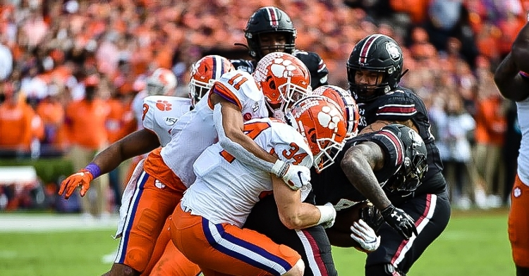 Clemson sits just a half yard out of the No. 1 total defense ranking.
