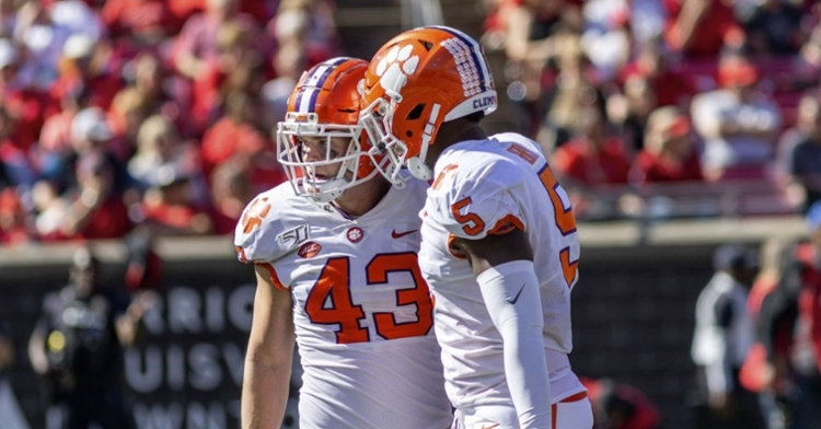 Clemson's defense is performing on an elite level currently.