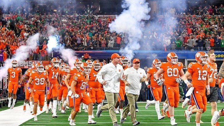 Clemson arrival update (NEW TIME)