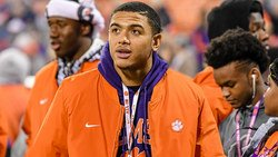 Swinney says LB has positive attitude after suffering second ACL tear