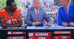 Lee Corso predicts Utah over Clemson in CFB playoff semi-final