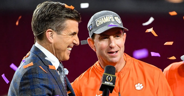 Clemson is back in the natty again