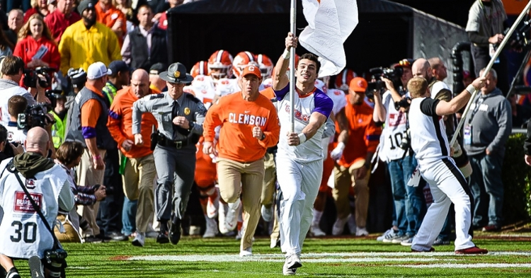 Clemson has been ranked No. 3 by the Coaches for six-straight weeks.