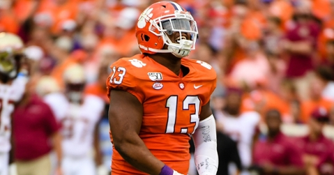 Clemson had been favored by more than three scores in all but one game going into this week.