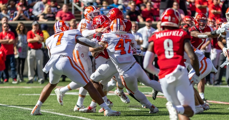 Clemson's defense played well at Louisville