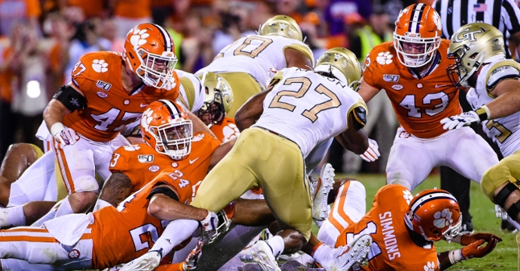 Clemson's back-seven stood up well in the 52-14 win Thursday per the Tigers' head coach.