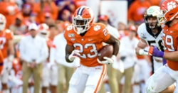 Clemson ranked No. 3 in updated AP Poll