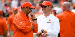 Clemson coordinator nominated for Broyles Award